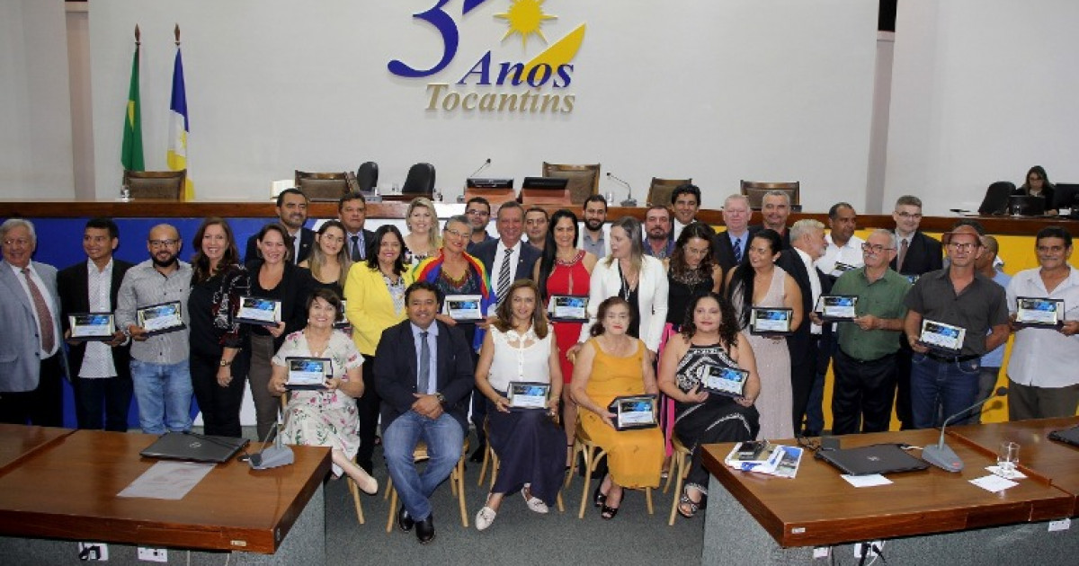 35 nordestinos receberam homenagem pelos serviços prestados nesses 30 anos de Palmas