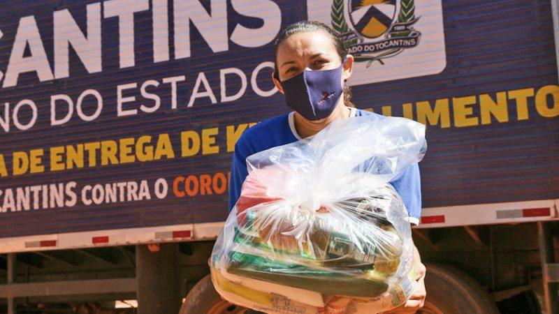 Inicia mais uma etapa de entrega de cestas atendendo mais 4 mil famílias