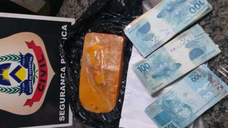 Motorista de ônibus é preso suspeito por tráfico de drogas em Araguaína