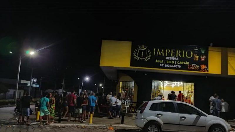 Proprietária de conveniência  é autuada por perturbação e aglomeração de pessoas em Arapoema