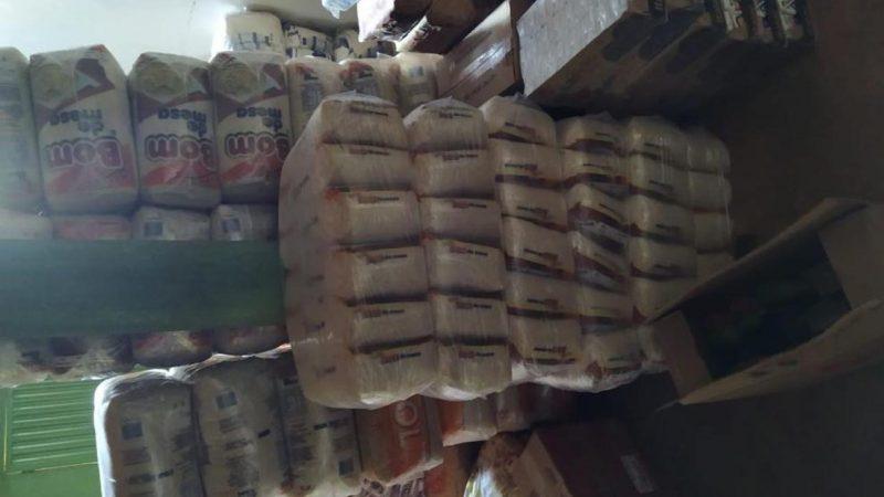 Quase uma tonelada de arroz roubada em Gurupi é recuperada em Peixe