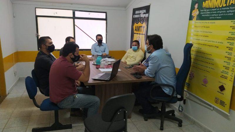 AMTT e AGRF elaboram plano de ação para a execução de melhorias no tráfego em Gurupi
