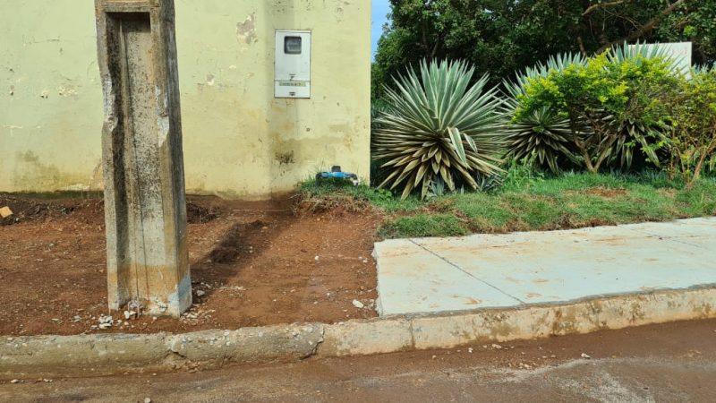 Depredação de calçada é infração que pode gerar multa de até R$ 2 mil