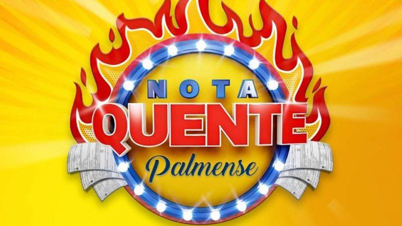 Nota Quente Palmense sorteia mais de R$ 11 mil neste sábado, 20