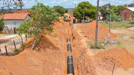 Para evitar enxurradas e alagamentos, mais de 11 mil metros de canalização e drenagem são instalados em Araguaína