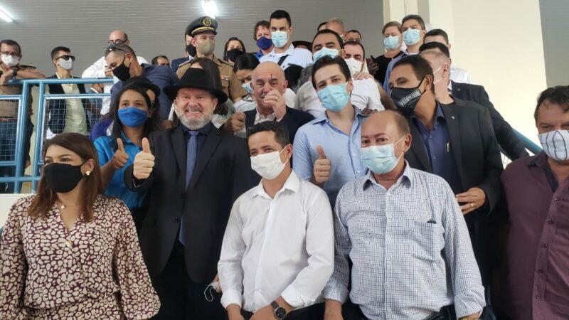 ETI Jardenir Jorge Frederico é inaugurada no setor Maracanã com cerimônia marcada de emoção