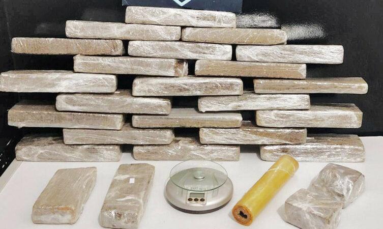 Ação policial apreende 25 kg de drogas e prende homem na região sul Palmas