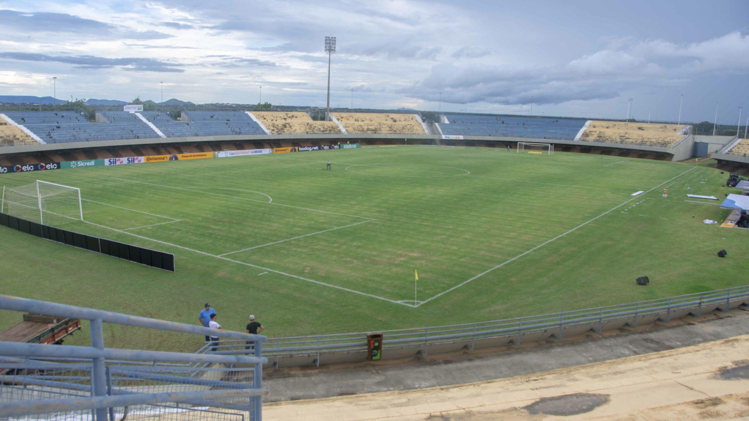 Palmas libera jogos do Brasileiro Série D no Nilton Santos, mas sem a presença de público