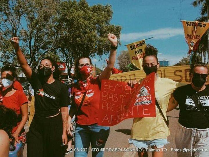 Em defesa da vida e por fora Bolsonaro manifestantes fazem protesto em Palmas e Araguaína